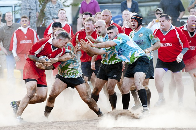 Rugby, Sports, Players, Competition, Rough, Tackling