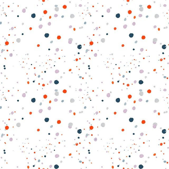 Confetti, Color, Dots, Circles, Playful, Pattern