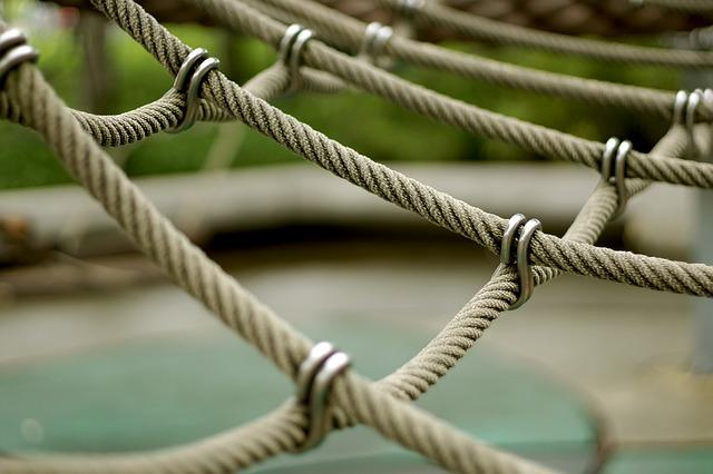 Rope, Playground, Park, Outdoor, Activity, Equipment