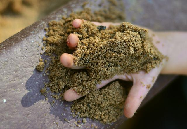 Sand, Child's Hand, Playground, Sand Pit, Keep, Finger