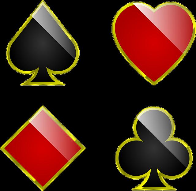 Suits, Cards, Playing, Gambling, Spade, Poker, Club