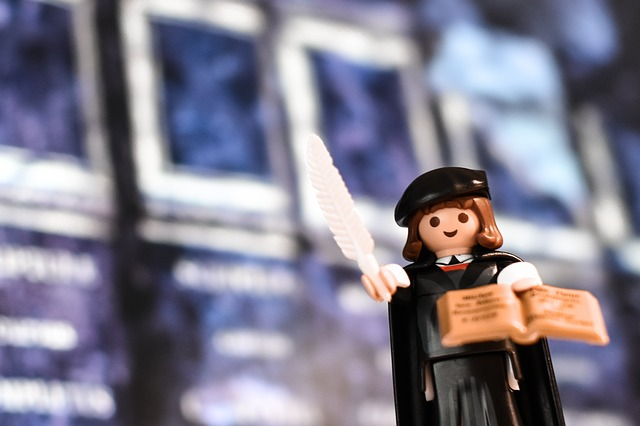 Martin Luther, Luther, Playmobil, Reformation