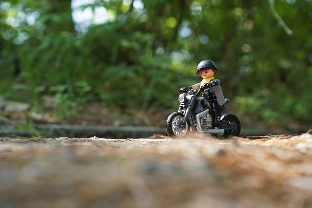 Playmobil, Bike, Motorcycles, Motor Cycle, Drive