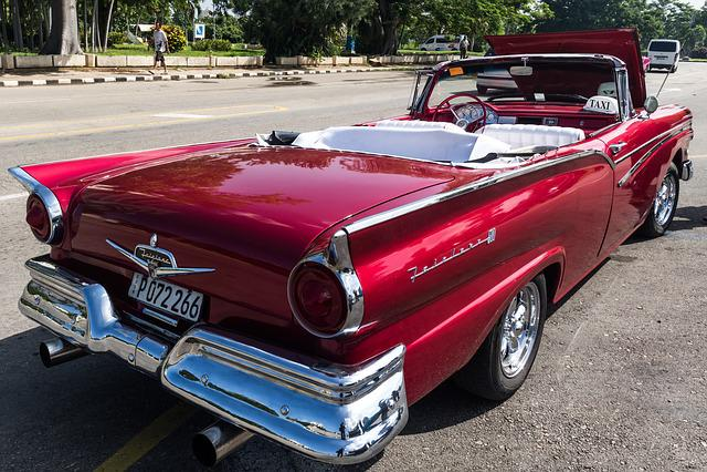 Cuba, Havana, Plaza De La Revolución, Classic