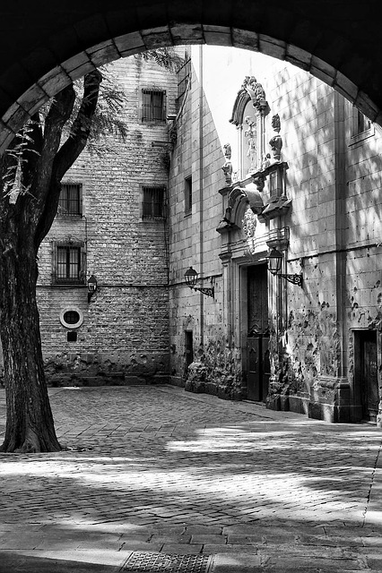 Barcelona, Plaza, Gothic