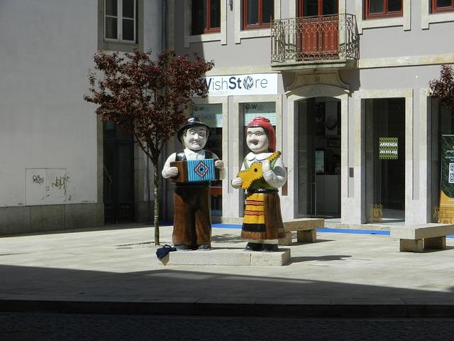 Barcelos, Braga, Portugal, Plaza