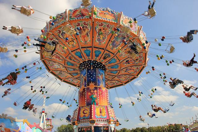 Sky, Carousel, Entertainment, Travel, Fair, Pleasure