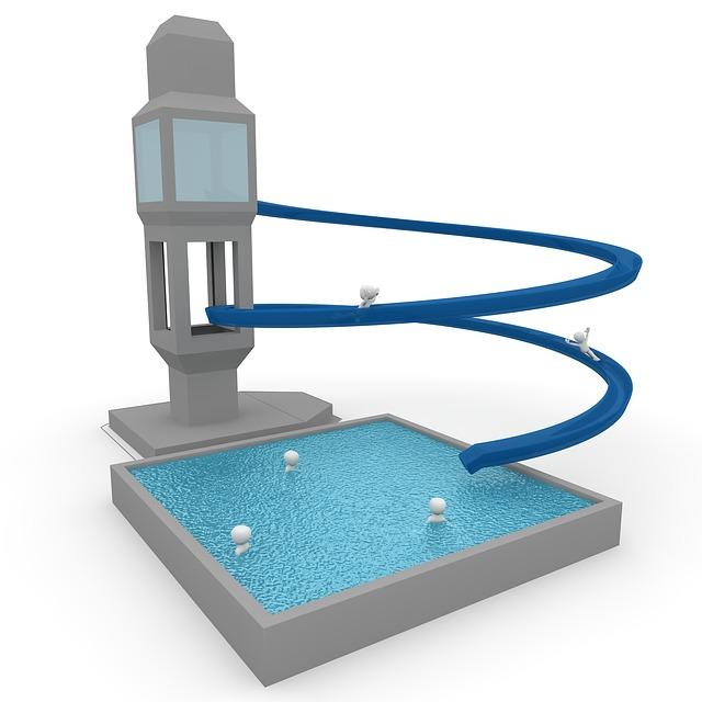 Slide, Swimming Pool, Pleasure, Water Park, Water Slide