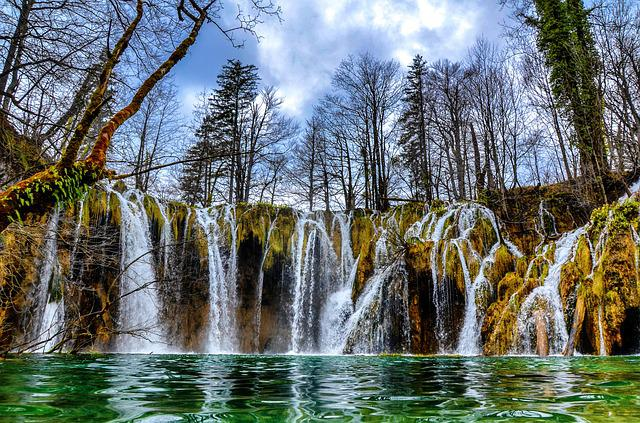 Plitvice, National Park, Waterfall