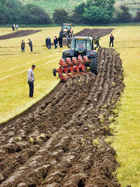 Farming, Ploughing, Agriculture, Plough, Soil, Rural
