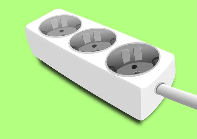Extension Cable, Electricity, Plug Socket, Socket, Plug