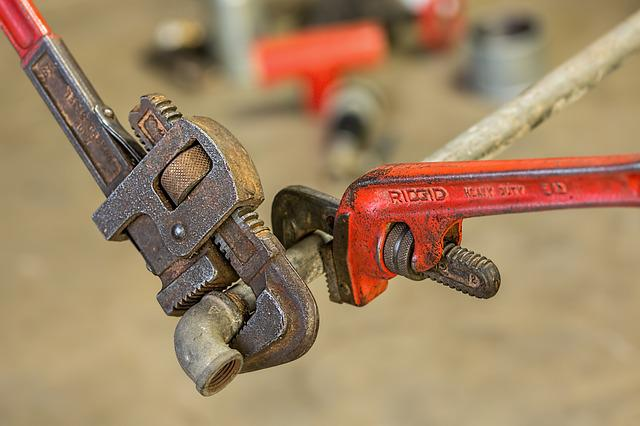 Plumbing, Pipe Wrench, Repair, Maintenance, Fix, Tool