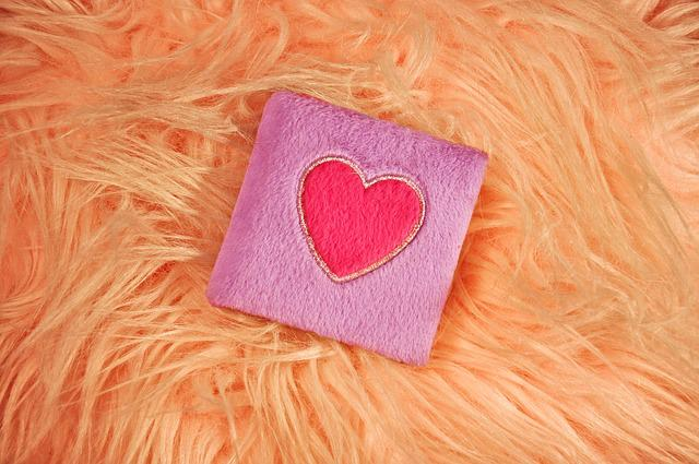 Book, Diary, Fluffy Book, Heart, Pink Heart, Plush
