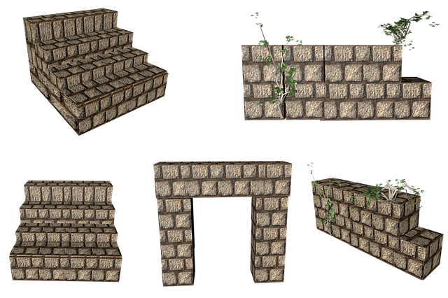 Stairs, Wall, Png, Isolated, Architecture, Emergence