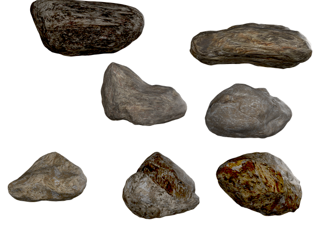 Stone, Png, Rock, Isolated