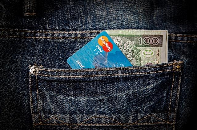 Money, Card, Business, Pocket, Visa, Mastercard