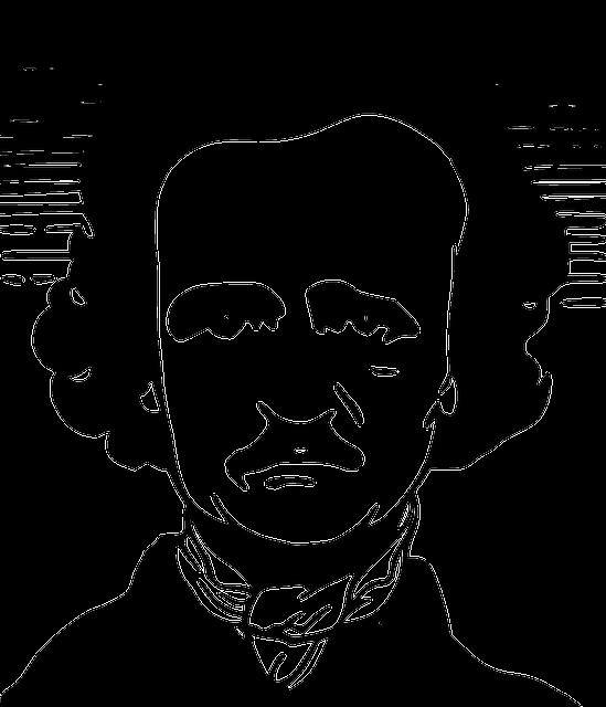 Edgar, Allan, Poe, American, Author, Poet, Editor