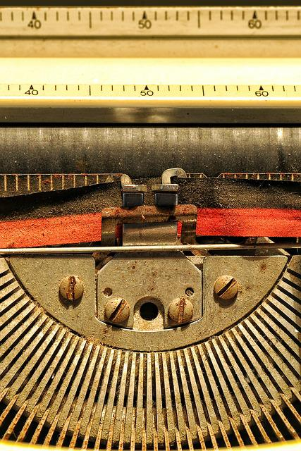 Letters, Texture, Writing, Machine, Roller, Poetry, Ink