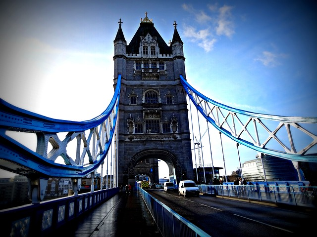 Tower Bridge, London, Uk, Point Of Reference