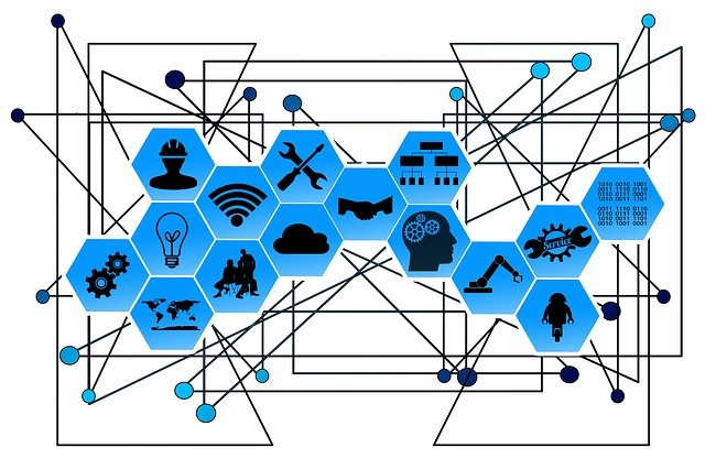 Web, Network, Points, Lines, Interfaces, Industry