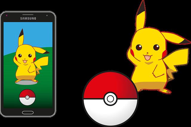 Pokemon, Pokemon Go, Pikachu, Pokeball, Samsung, App