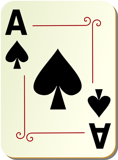 Spades, Ace, Card, Playing, Deck, Poker, Game, Casino