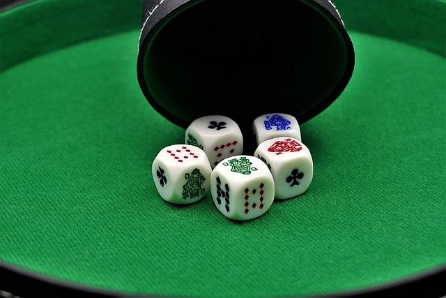 Poker Dice, Gambling, Poker, Play, Gesellschaftsspiel