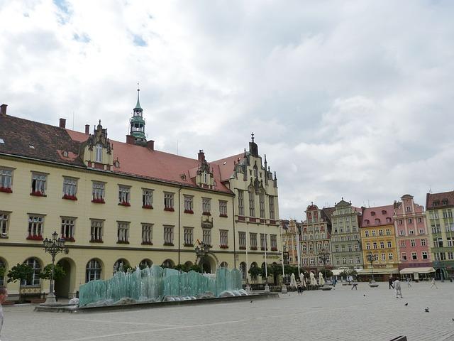 Wroclaw, Marketplace, Wrocław, Poland, Silesia