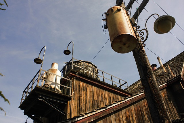 Industrial, Facilities, Sky, Journey, Pole
