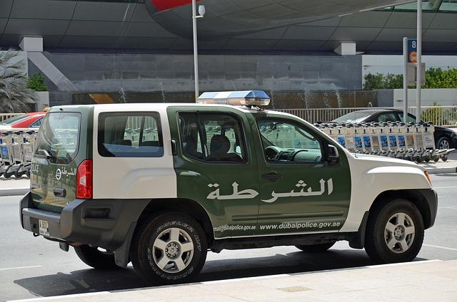 Dubai, Police, Jeep, Auto, Nissan
