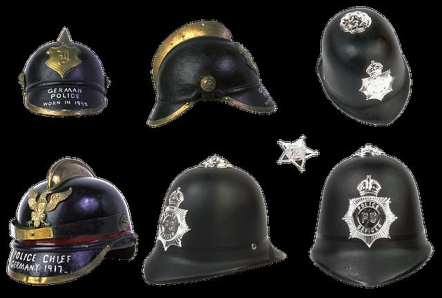 Police, Helmet, Police Helmet, Bobby, German Helmet