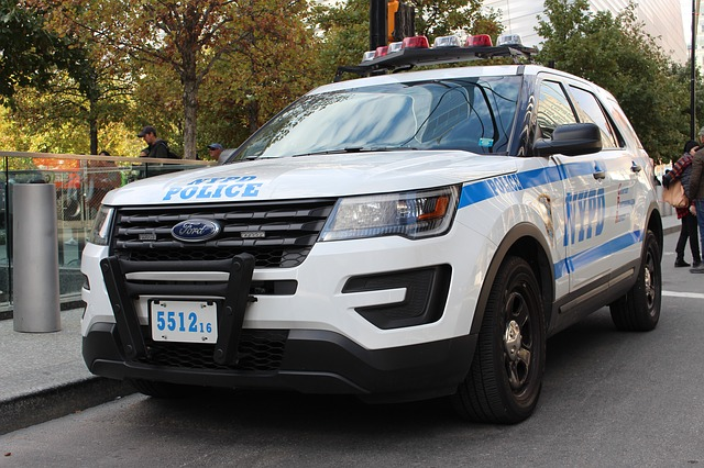 Nypd, New York, Police Car