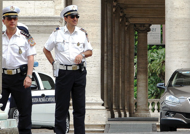 Police, Cop, Police Officers, Roman Police