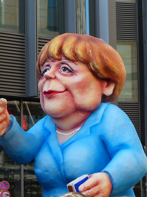 Angela Merkel, Politician, Caricature, Show Me, Policy