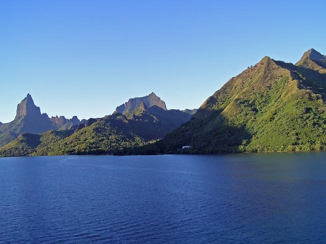 Moorea, French, Polynesia, Island, Tropical, Lagoon