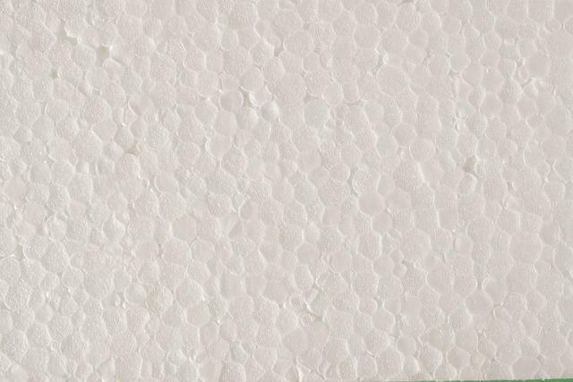 Polystyrene, Texture, White, Foam, Plastic