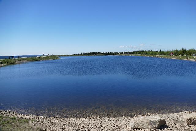 Plateau, Lake, Pond, Worm Mountain, Resin, Braunlage