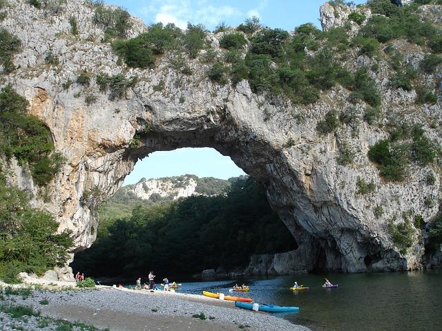 Pont D'arc, Ardeche, Gorges De L ' Ardèche, France