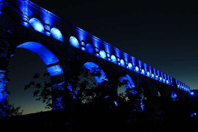 Pont Du Gard, France, Bridge, Aqaedukt