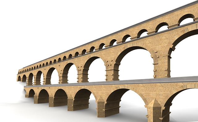 Pont Du Gard, France, Building, Places Of Interest
