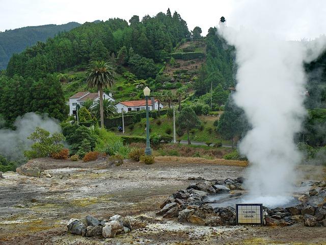 Azores, Furnas, Thermal Area, Ponta Delgada