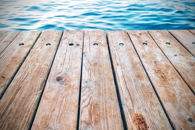 Pontoon, Raft, Boat Bridge, Water, Lake, Brown Water
