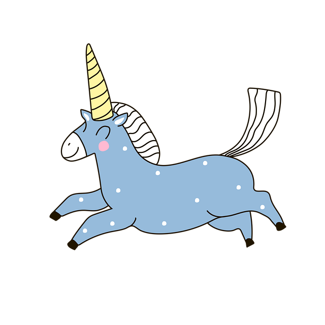 Unicorn, Doodle, Horse, Animal, Magic, Pony, Fantasy