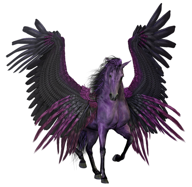 Pegasus, Flying, Winged, Horse, Pony, Myth