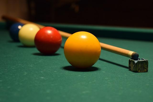 Billiards, Dutch Colors, Pool Cue