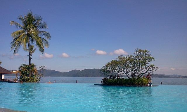 Pool, Beach, Travel, Southland, Kota, Kota Kinabalu