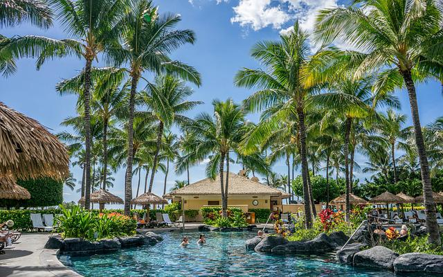 Hawaii, Oahu, Resort, Ko Olina, Marriott, Pool