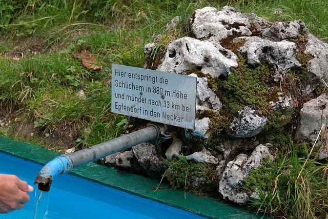 Source, Rahul, Water Pipe, Hand, Pool, Basin, Water