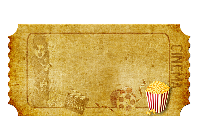 Cinema, Demolition Map, Popcorn, Film Roll
