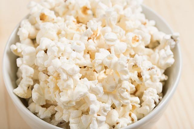 Snack, Movie, Popcorn